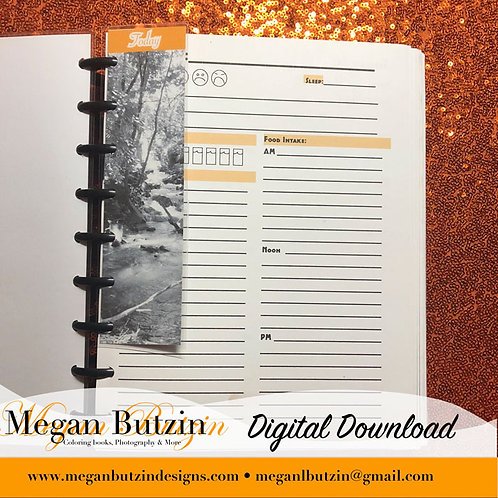 Deluxe Daily Well Being Planner (Digital Copy)