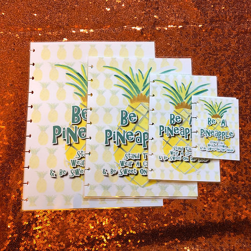 Pineapple Planner Cover