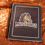 SMSU Mustangs Notebook