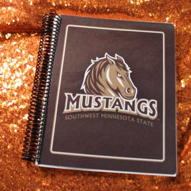 SMSU Mustangs Notebook