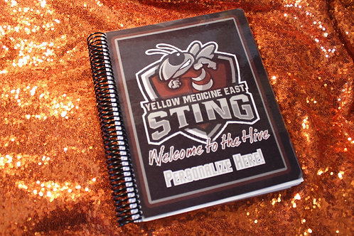 Custom Cover Wide Ruled/College Ruled Notebook