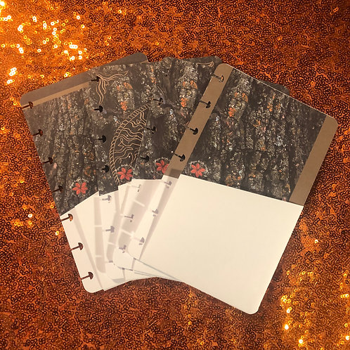 Tree of Life Mini & classic size Planner Pocket Folders (set o