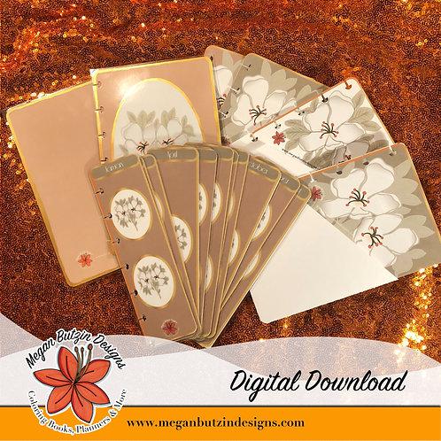 Vintage Floral Digital Set