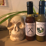Custom Hot Sauce Bottle Labels