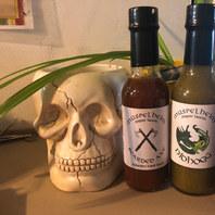 Custom Hot Sauce Bottle Labels