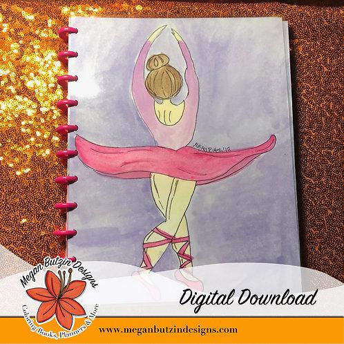 Dancer 9-month Student Planner - Digital