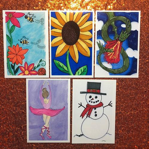 "Colorful Misc. prints 4x6"""
