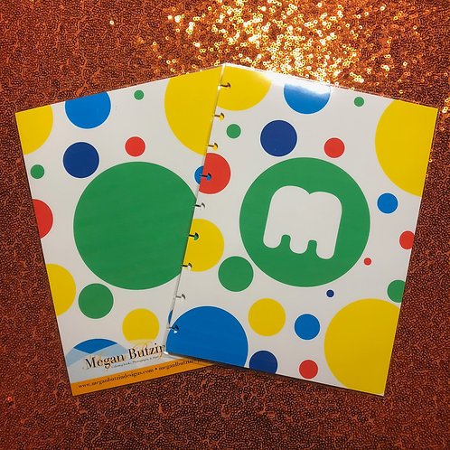 Dots Planner Cover