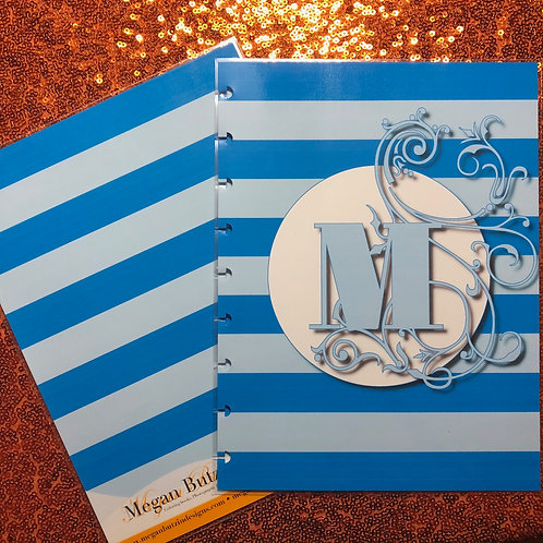 Horizontal Stripes Planner Cover