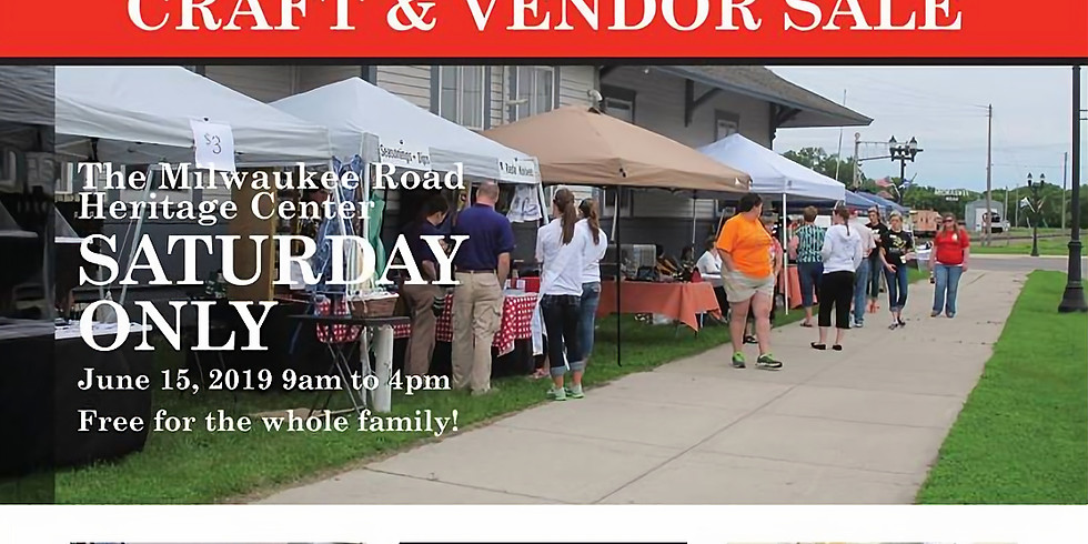 Milwaukee Road Heritage Center Craft/Vendor Show