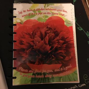 Custom Planner Cover