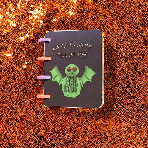 Cthulhu Lined Notebook