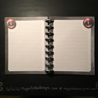 Nicky's Custom Lined Notebook