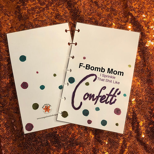 F-Bomb Mom Planner Cover