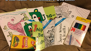 15% off Coloring Books through Etsy Shop!
