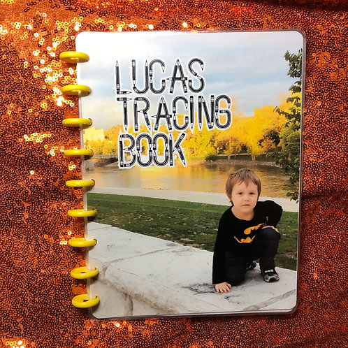 Letter Tracing Book Personalized