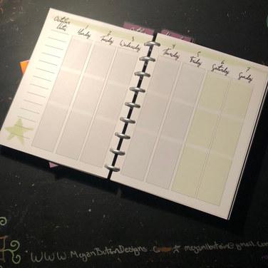 Bobbi's Custom Planner,