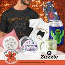 Shop merchandise available in my Zazzle Shop