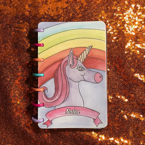 Unicorn Planner Cover