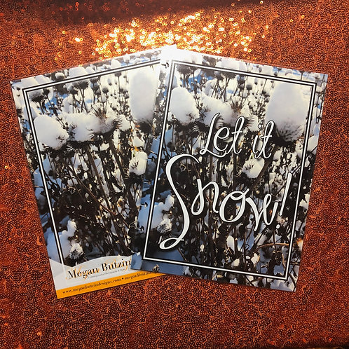 Let It Snow! Planner Cover