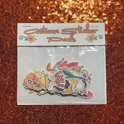 Autumn sticker pack