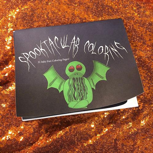Spooktacular Coloring Book
