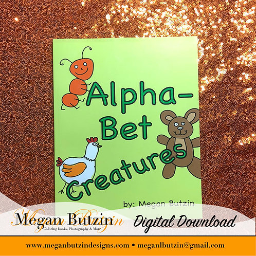 AlphaBet Creatures Digital Download