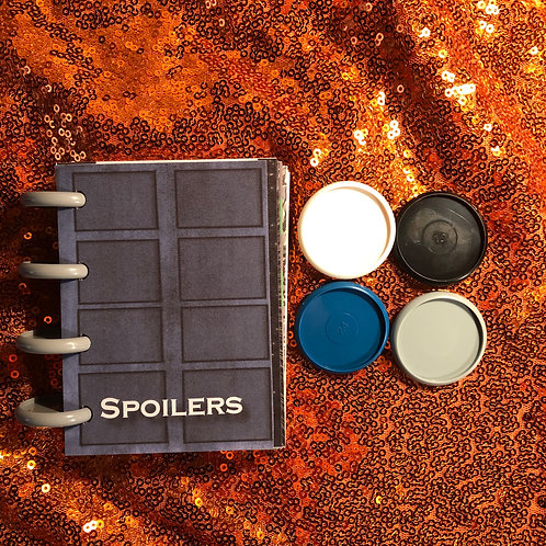 Spoilers Lined Notebook