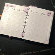 Bobbi's Custom Planner,