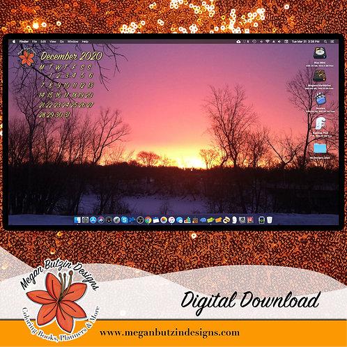 December 2020 Desktop Wallpaper