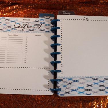 Custom 31 bag pattern planner.