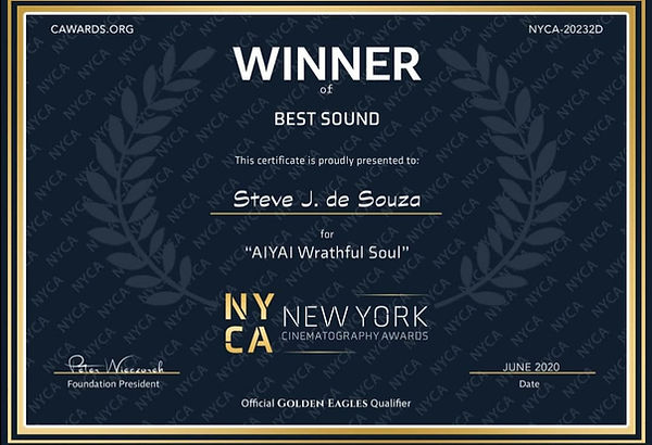 SteveJdeSouza_NYCA_WinnerBestSound2020.j