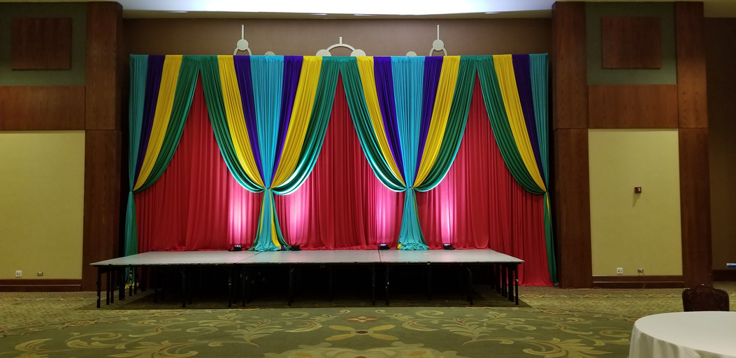 Colorful Drape