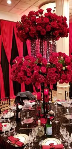 Guest Table Flower Decoration