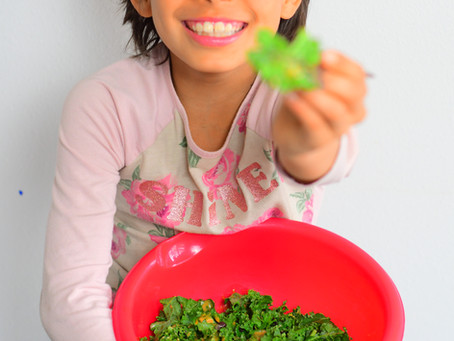 How to get your kids to eat more veggies.