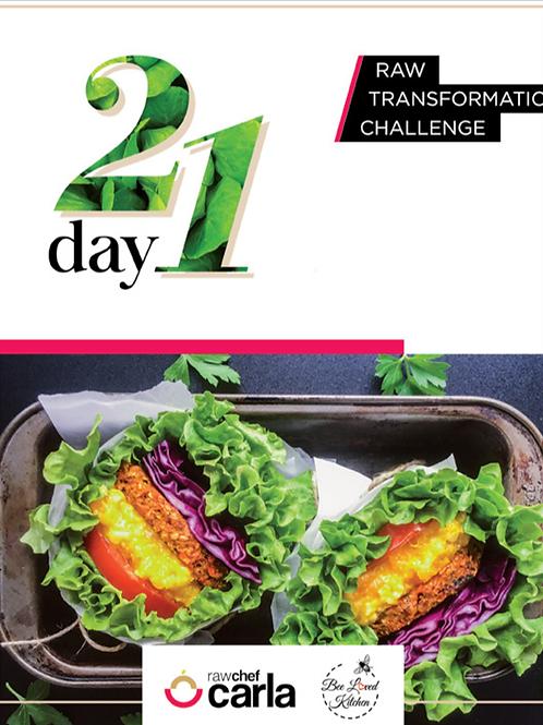 21 Day Raw Transformation e-book