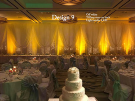 Wedding Backdrop & Drapery for Ceremony and Head Table