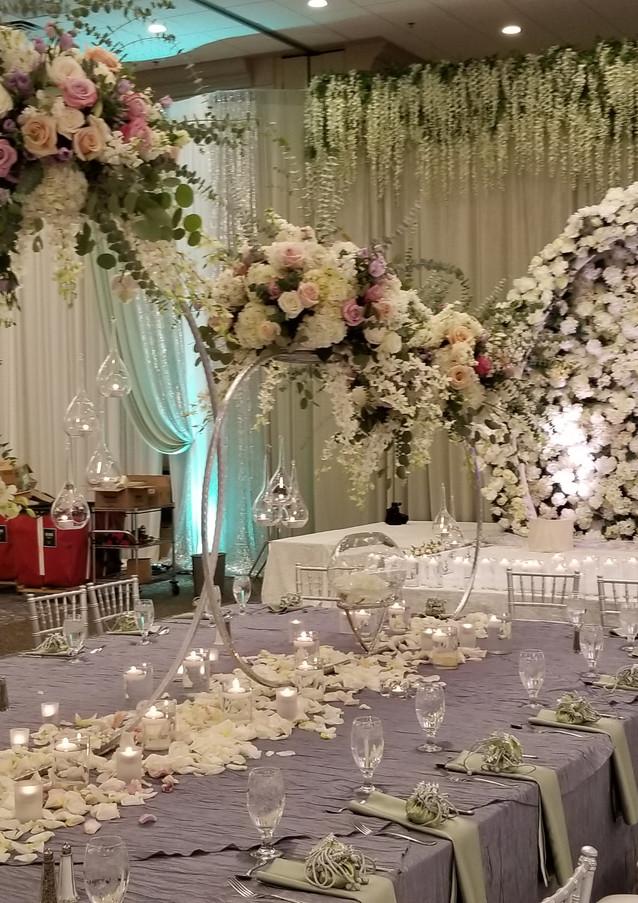 pakistani wedding stage decor