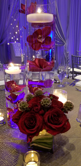 Guest Table Flower Decoration