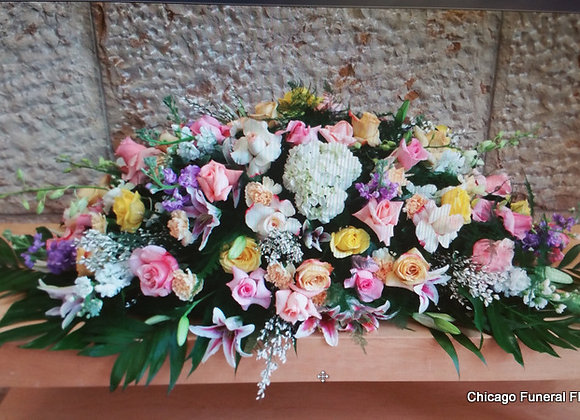 Casket Flowers. Design 3