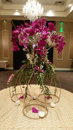 Wedding Place Card Table