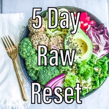 5 Day Raw Reset
