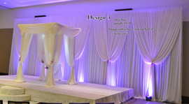 DRAPERY FOR CEREMONY and HEAD table