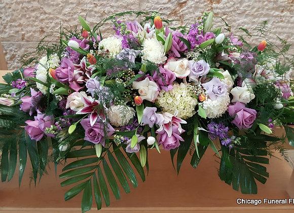 Casket Flowers. Design 4