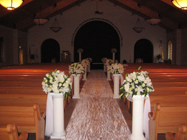 Church Ceremony Décor