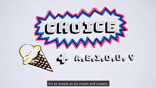 The Vowels of Choice