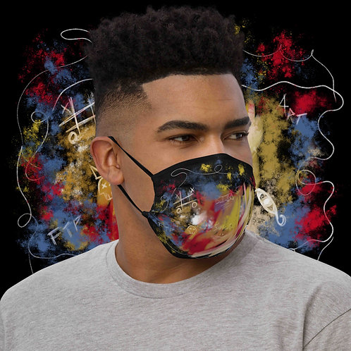 Abstraction Face Mask