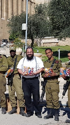 Purim Packages For an Entire Company of 100