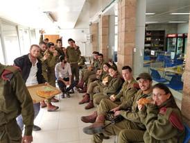 IDF Hevron Pizza