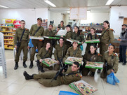 IDF Pizza Hevron